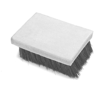 "HEADSTOP BRUSH/LEATHER BLOCK/2.5""L X 2""W X .312"" THICK"