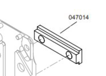 Clincher Mounting Bar 3/8 (Replaces 0305.2053.4)