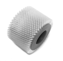 "GLUE POT BRUSH 5-3/8 OD X 3.812""L, .014 NYLON"