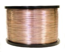25 GA. WIRE ON 5LB SPOOLS COPPER