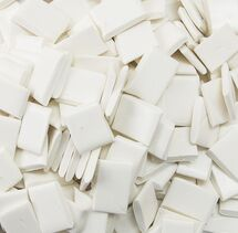HOT MELT ADHESIVE WHITE CHIPS 50 LBS. PER BOX