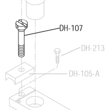 DRILL FRAME CLAMP SCREW
