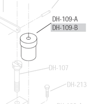 DRILL SPINDLE SLEEVE CAP - SCREWS