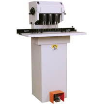 """Floor Model Paper Drill 3 Spindle, Moveable Heads, Manual 2"""""""