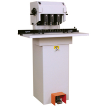 "Spinnit FMMH-3 Hydraulic 3 Spindle Paper Drill (2"" Capacity)"