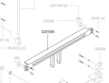 Adjuster Rail Assembly, M27