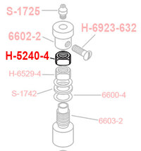 1/4 - 20 THIN HEIGHT LOCK NUT H-5240-40