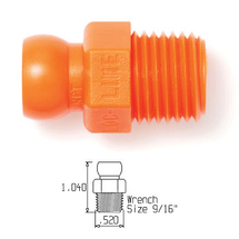 "1/4"" NPT CONNECTOR (PACK OF 4)"