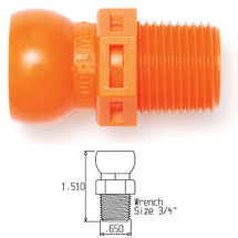 "3/8"" NPT CONNECTOR (PACK OF 50)"