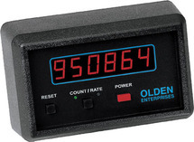 RATE & TOTAL COUNTER WITH SENSOR & MAGNETIC BASE MOUNT