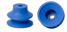 BLUE RUBBER BELLOWS SUCKER 9/16H X 3/4W X 1/8B PHILLIPSBURG