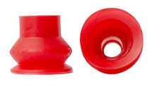 RED VINYL BELLOWS SUCKER 3/4H X 13/16W X 1/4B