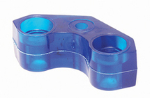 "BLUE GRIPPER SEAT 2-1/2"" LONG X 3/4"" WIDE (HARD)"