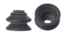 BLACK RUBBER BELLOWS SUCKER 1/2 X 11/16W X 1/8B PHILLIPSBURG